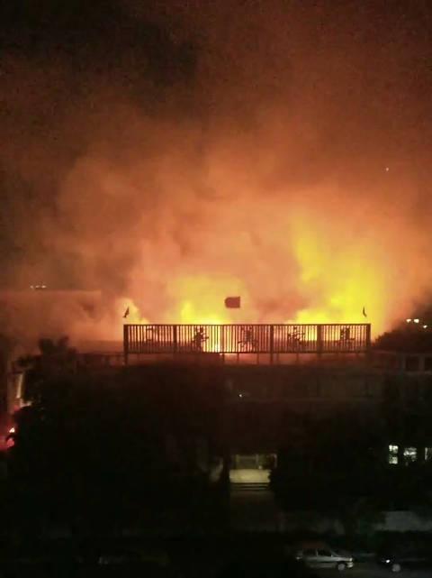 沙头华关家私厂发生火灾事故。 http