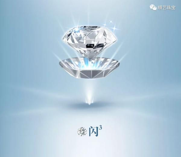 镜像炫切割火彩 重新定义钻石闪耀