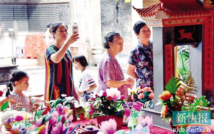 """""""中国乞巧第一村""""珠村纳入保护 规划四条文物径"""
