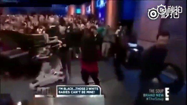 美国的亲子鉴定八卦节目,每看一次都要感慨黑人的舞蹈和运动天赋