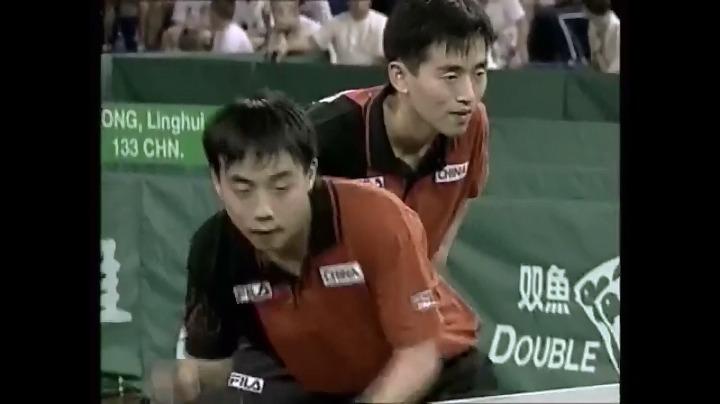 刘国梁/孔令辉vs萨姆索诺夫/普里莫拉茨 第四局b