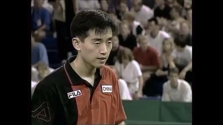 刘国梁/孔令辉vs萨姆索诺夫/普里莫拉茨 第四局a