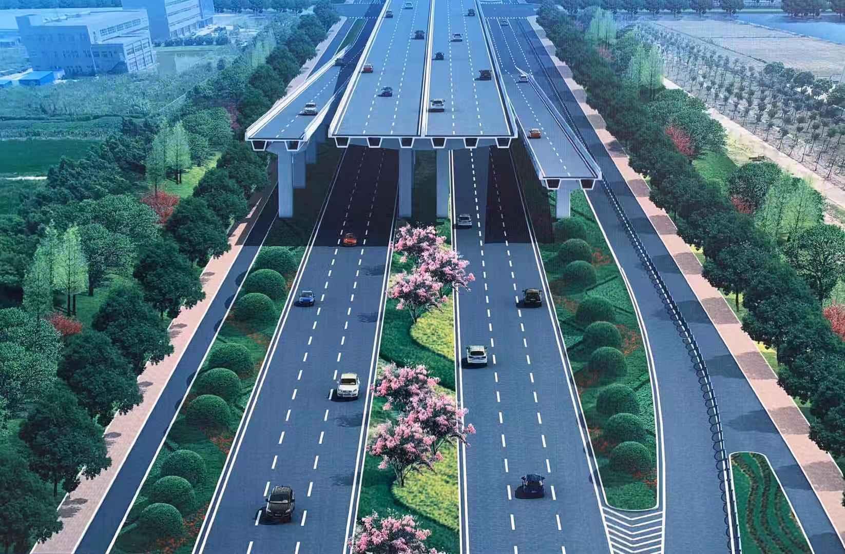 """""""主线高架+地面辅路"""",连接S2S3的两港大道启动快速化改造"""