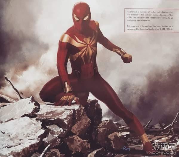 《复联3》蜘蛛侠未采用战衣曝光 蜘蛛Logo更还原漫画