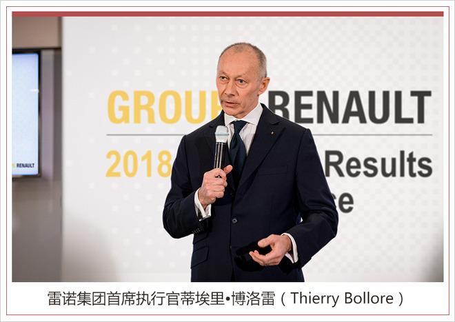 雷诺集团2018年财报出炉 营业利润超36亿欧元