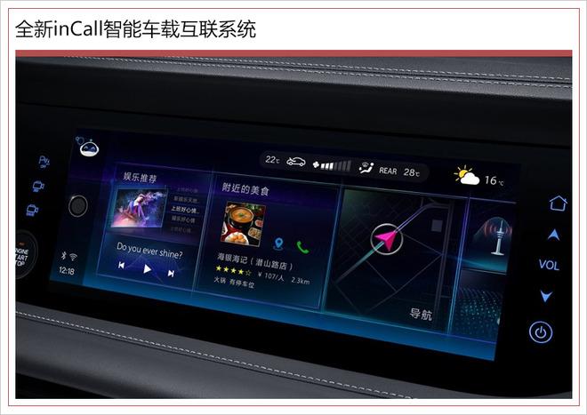 长安CS95科技范儿更足! 自动驾驶智能互联都有