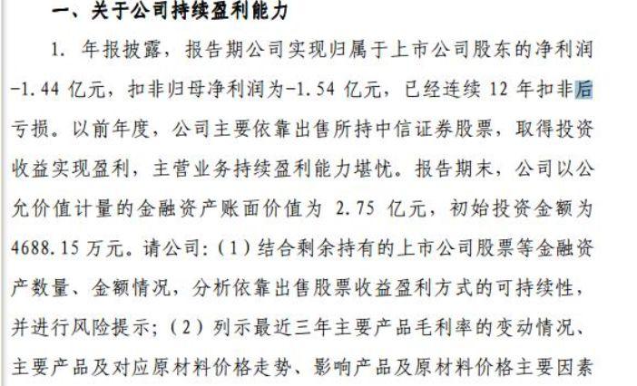 ▲图片来源:上交所问询函