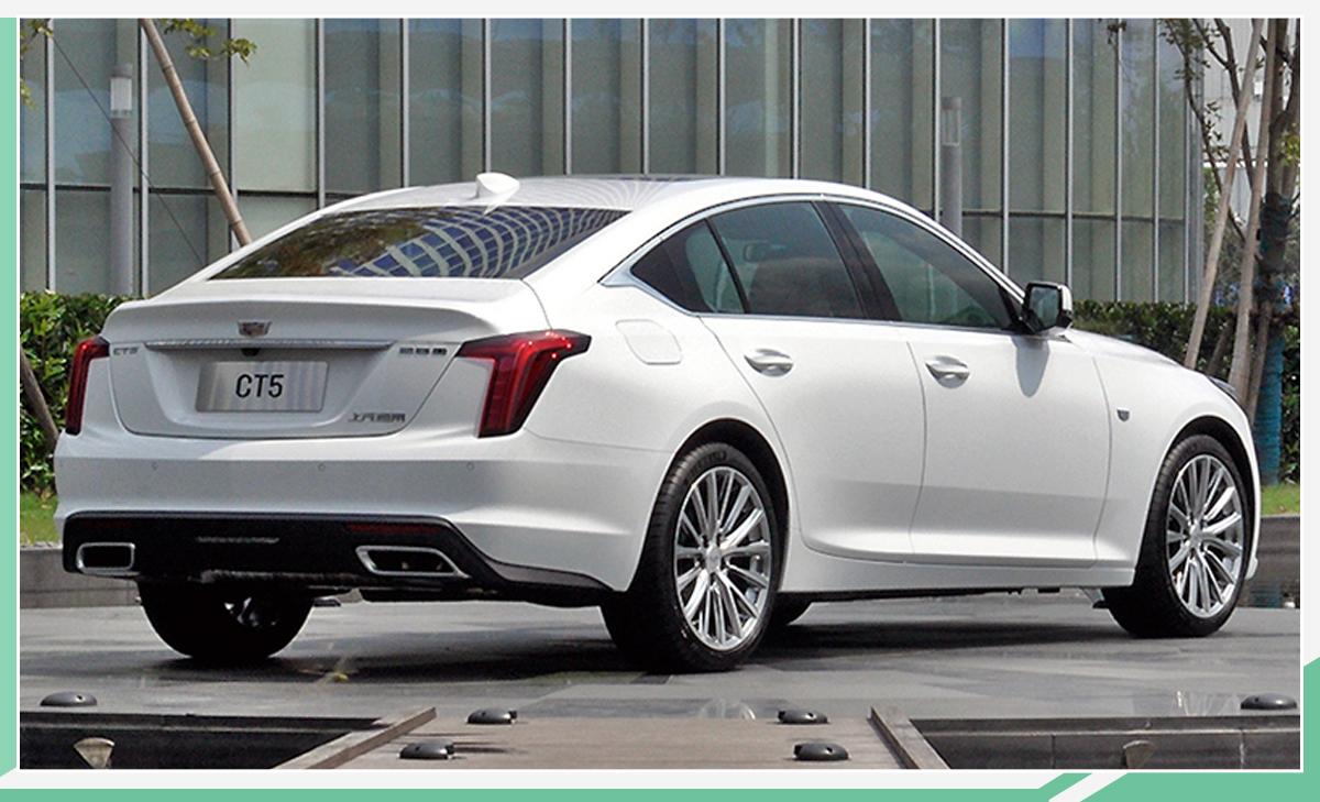 凯迪拉克CT5将于10月底上市 强势登陆中型车市场