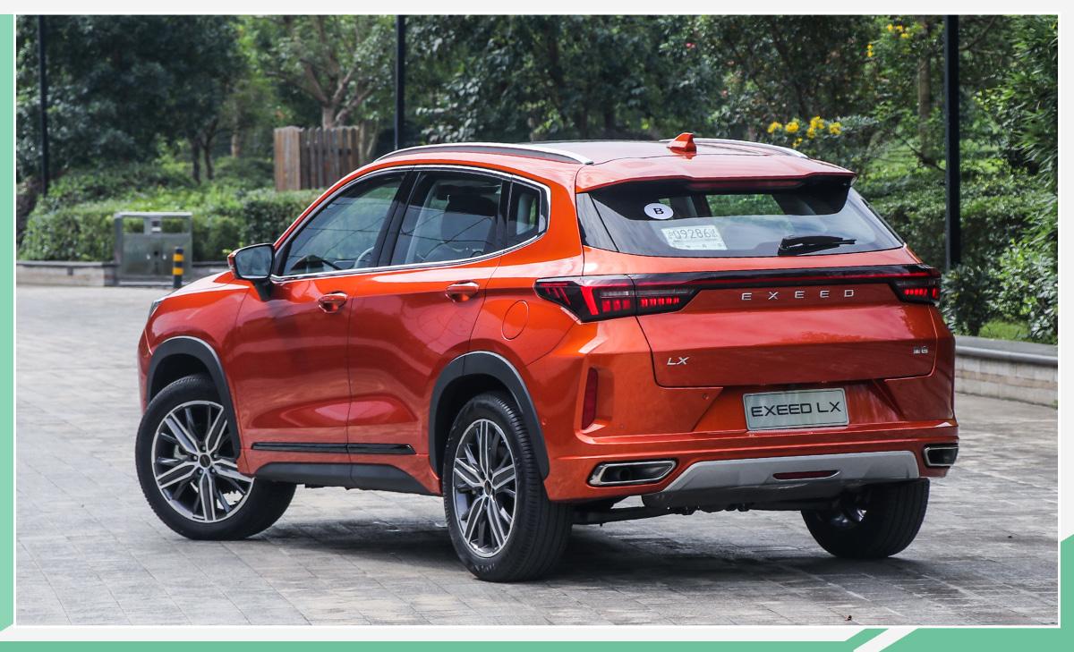 EXEED星途LX正式上市 推4款车型/售12.59万元起