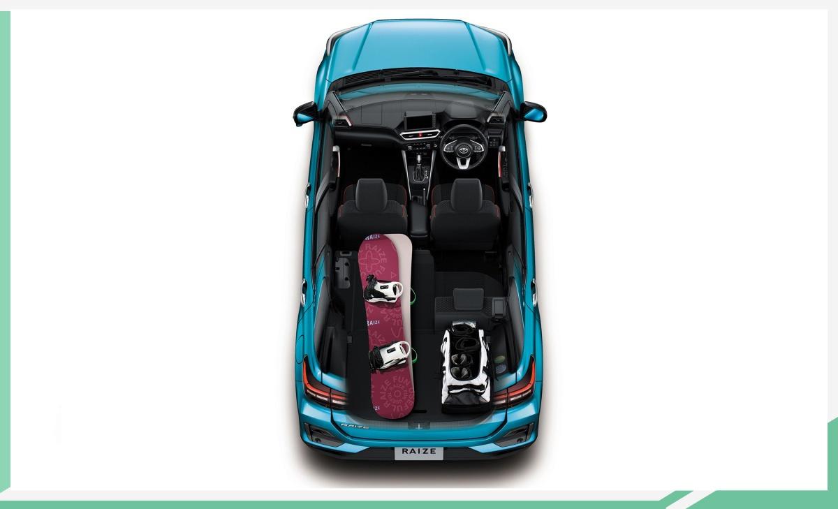 丰田发布全新小型SUV官图 基于大发DNGA架构打造