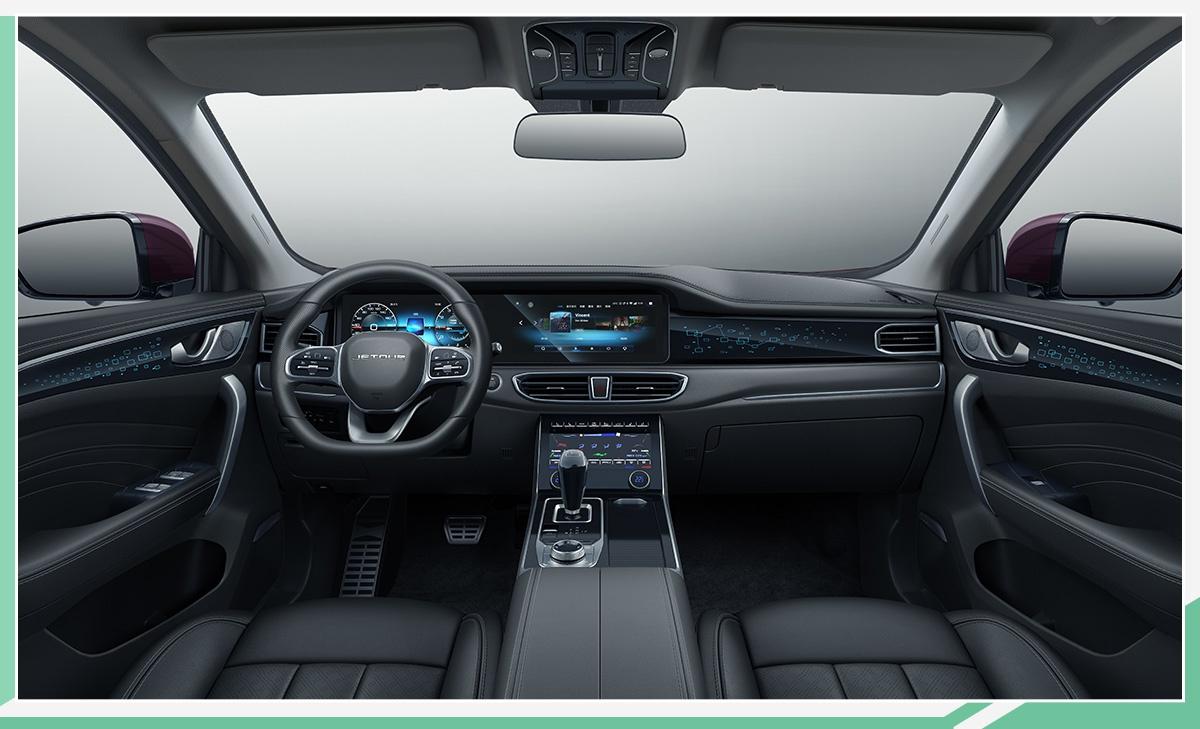 捷途全新旗舰SUV配双12.3英寸屏幕 11月28日上市