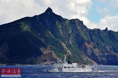 ▲资料图片:中国海监15船抵达钓鱼岛海域,对钓鱼岛及其附属岛屿附近海域进行维权巡航执法。