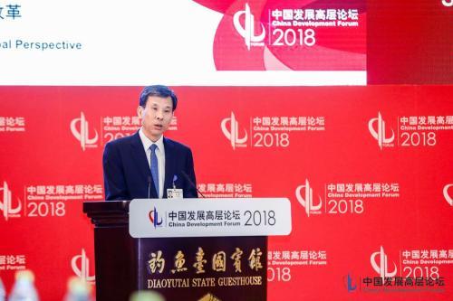 财政部部长刘昆。中国发展高层论坛供图