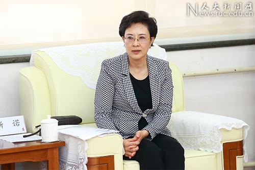 雄安新区党工委委员、管委会副主任吴海军一行来校座谈