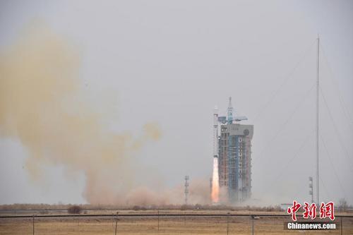 """中国首颗软件定义卫星""""天智一号""""将下半年发射"""
