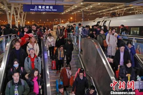资料图:上海虹桥站  殷立勤摄
