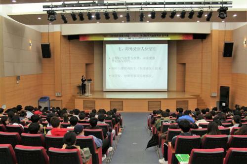 驻釜山中领馆吁中国留学生抵制诱惑 平安留学
