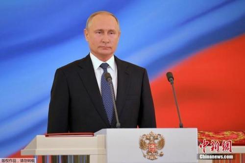 俄罗斯新任总统普京。