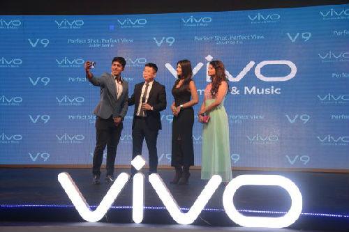 4月2日,vivo V9在孟加拉国推出。(新华社)
