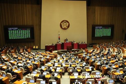韩媒:韩国国会通过补充预算案 总额逾3万亿韩元韩元预算案韩国国会