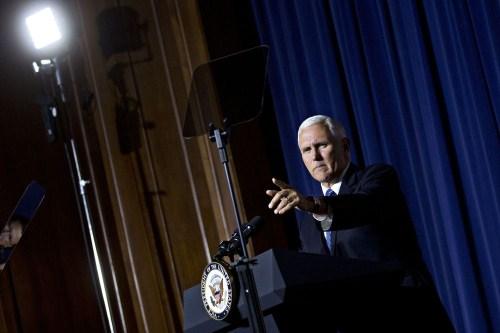 美副总统公布太空军建设计划:欲投入80亿美元