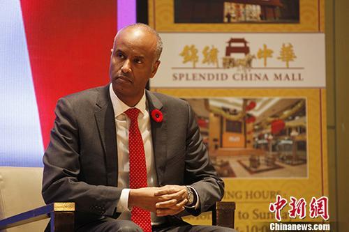 當地時間11月10日,即將訪華的加拿大聯邦移民、難民和公民事務部部長鬍森(Ahmed Hussen)在多倫多對媒體表示,加方願爲中國公民訪加提供更多便利。 中新社記者 餘瑞冬 攝