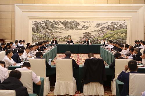 全国粮食和物资储备局长座谈会在安徽合肥召开