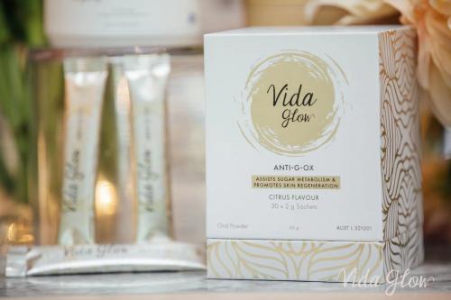 Vida Glow全新推出抗糖抗氧闪释粉,全面抵御衰老,重现焕彩青春