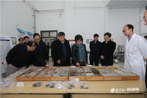 教育部副部长翁铁慧来中国石油大学(华东)调研