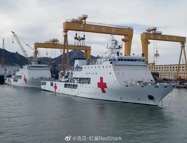 海军新型舰艇一次建造两艘,不大也没武装,堪称海上天使