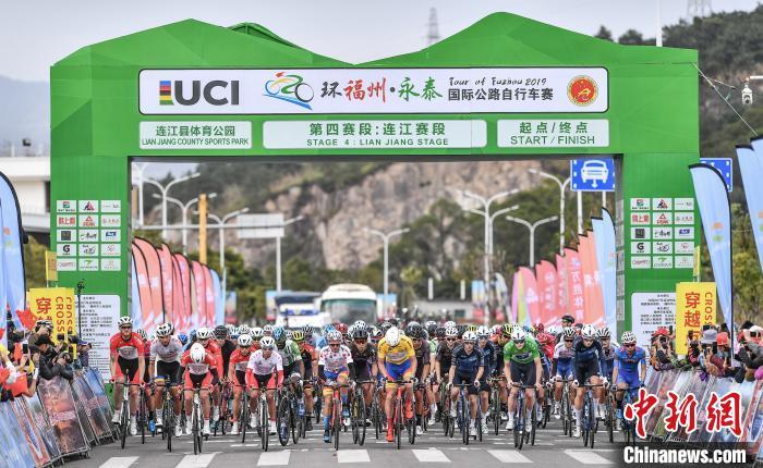 2019环福州自行车赛第四赛段罗里·汤森再夺冠军