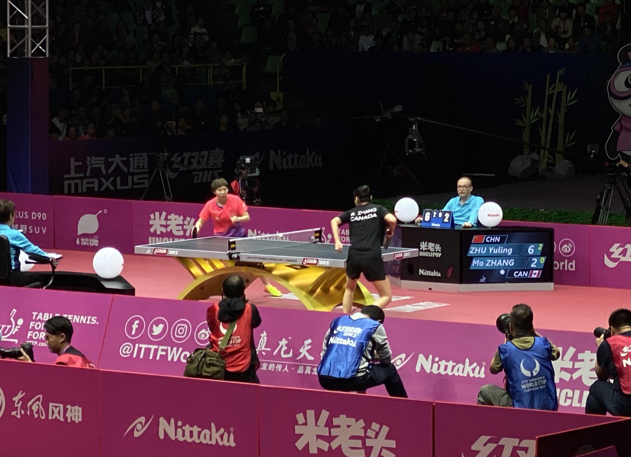 国乒女将携手晋级世界杯四强展望半决赛直言全力以赴