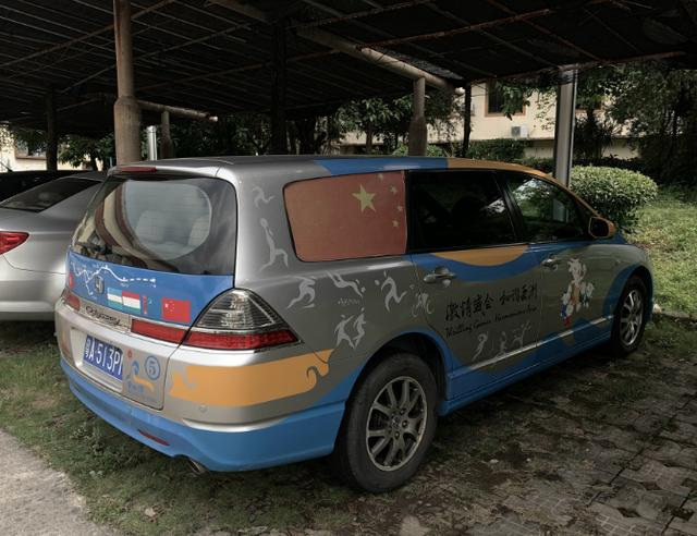 亚运奥德赛,据说一个月跑出上万公里,唯一合法的痛车