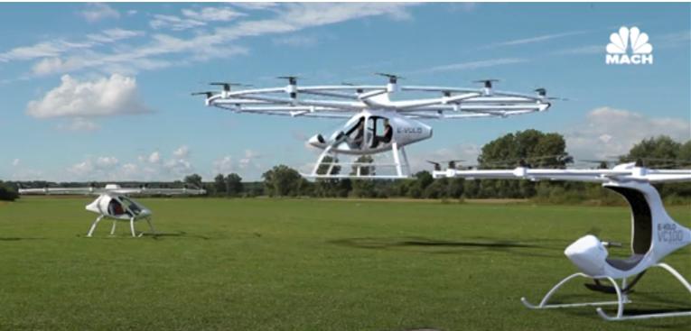 德国某公司研发的另一款飞行器。(图:NBC新闻)
