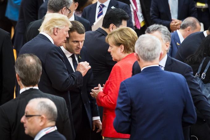 特朗普g20峰会被孤立 欧洲对美不再客气