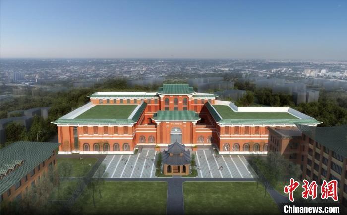 中山大学博物馆项目由中建八局华南分公司承建。 通讯员 供图 摄