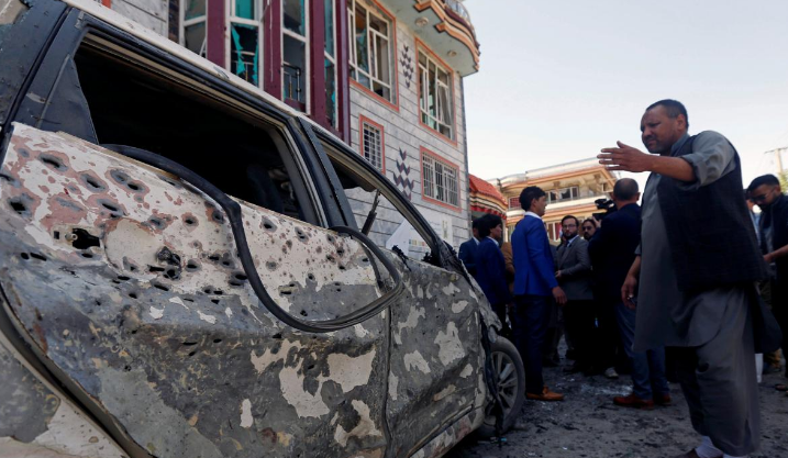 阿富汗首都发生自杀式爆炸袭击 已致31死50余伤