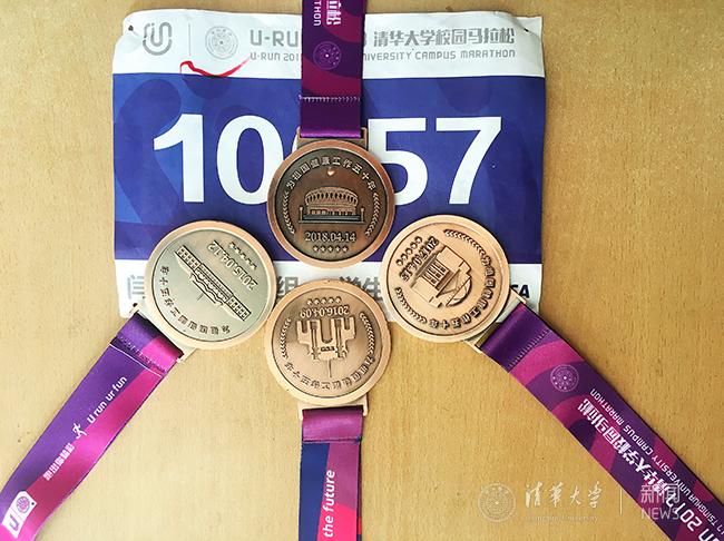 清华,春风中感受奔跑的力量u-run2018清华大学校园马拉松赛举行