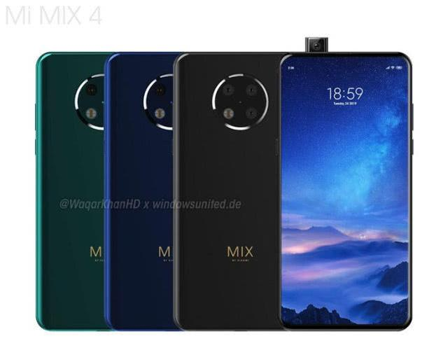 小米MIX4骁龙855 Plus+100W闪充+5G版!下周闪亮登场