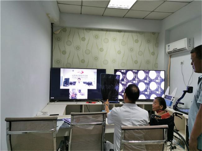 县二院成功为患者开通第1例远程门诊