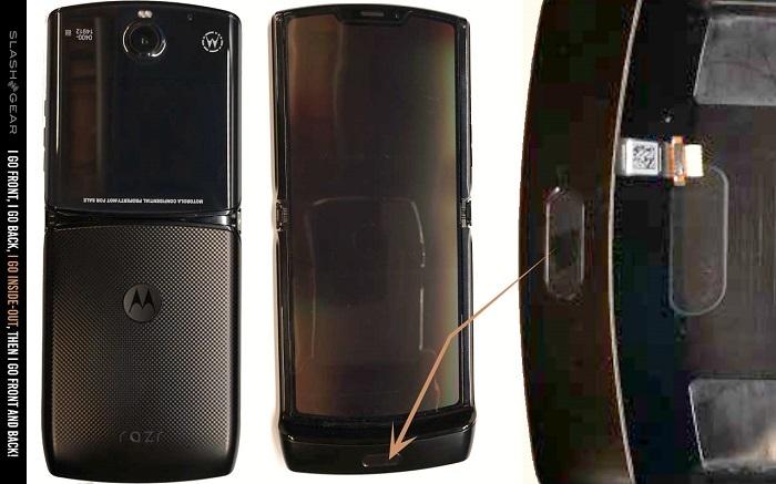 Moto Razr折叠屏翻盖机FCC认证照片流出