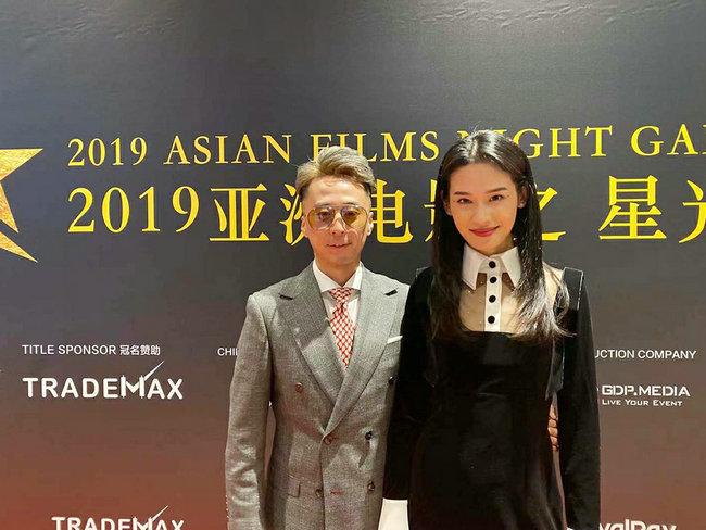 中国电影人孙晟豪Gino Sun亮相爱塔金像奖 致力将亚洲电影呈现好莱坞