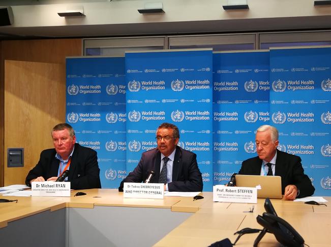世卫组织宣布抗击埃博拉成果显著 疫情获有效控制