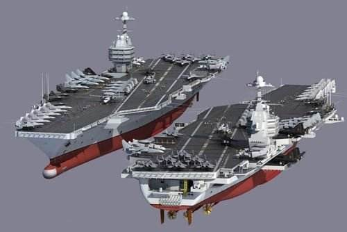 美称中国将造核动力航母排水量或达11万吨 载机70架如何打败哈莫雷特