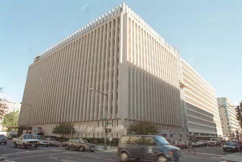 ▲资料图片:位于美国首都华盛顿的世界银行大楼外景