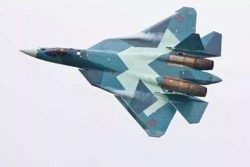 ▲俄罗斯苏-57战斗机
