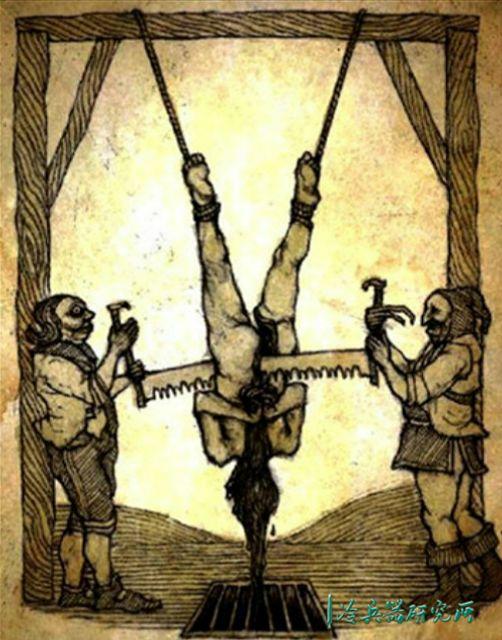 胆小慎入!睾丸刑、铁处女?揭秘那些你所不知道的西方酷刑