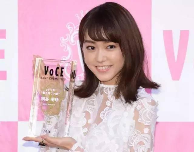深田恭子,2017年获奖。