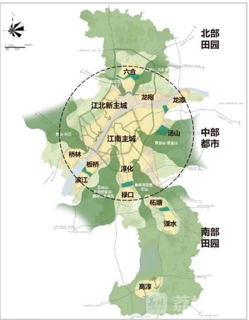 最新城市规划出炉 以后,请叫江北新区 南京新主城