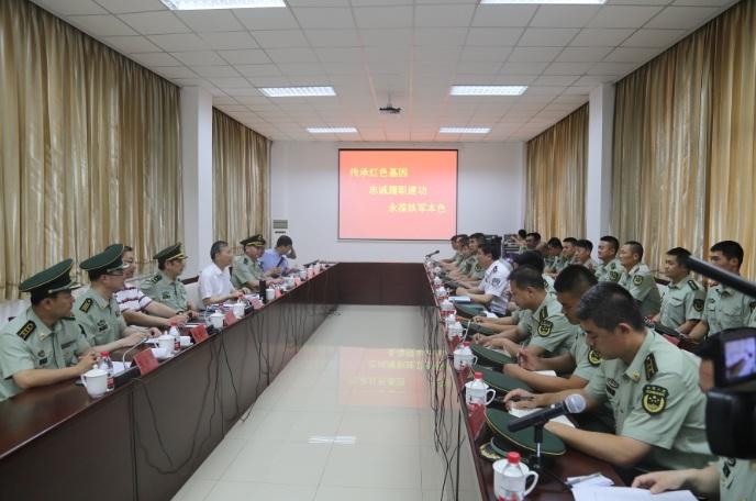 黄明书记看望慰问北京消防官兵